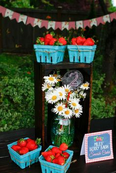 Berry Bash Birthday Party Ideas | Photo 1 of 58