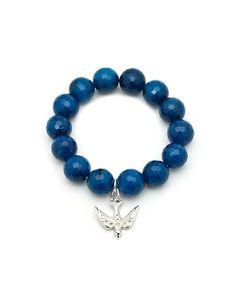 Ocean Blue Dove Bracelet