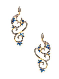 Finish your ensemble with stunning hoops, drops, and chandeliers