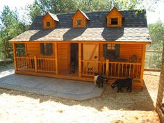 Pygmy goat barn!!    I would love to have this WHEN I get some babies!!!!!!