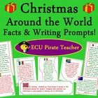 Christmas Around the World Facts and Writing Prompts FREEBIE is a fun, quick way to include global awareness into the days leading up to Christmas....