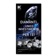 IDE investment diamond exchange - corporate and institutional roll-up - © Giulia Riva Art