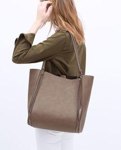 ZIP SHOPPER BAG-View all-Handbags-WOMAN | ZARA United States