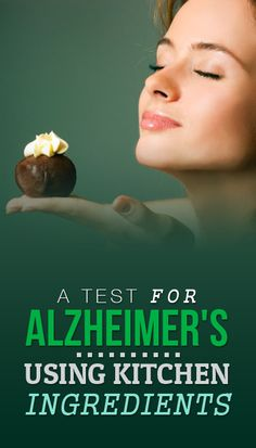 Researcher Discovered An Alzheimer's Test Using An Ingredient In Your Kitchen!