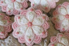 cookie flowers decorated