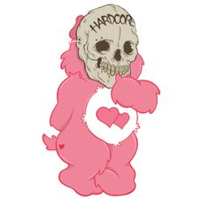 Love Will Eat Your Face Care Bear