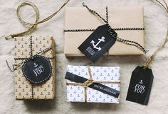 Free printable anchor wrapping paper & gift tags by Hey Look rm