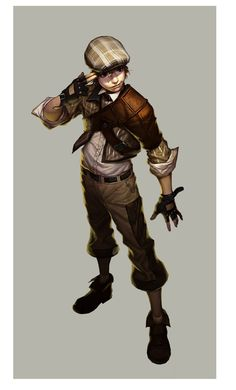 Kai Fine Art is an art website, shows painting and illustration works all over the world. Dungeons And Dragons Art, Dungeons And Dragons Characters, Dnd Characters, Fantasy Characters, Fantasy Character Design, Character Design Inspiration, Character Concept, Character Art, Steampunk Characters