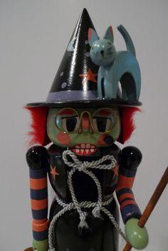 Vintage Witch Nutcracker German Erzgebirge by plattermatter2, $108.00