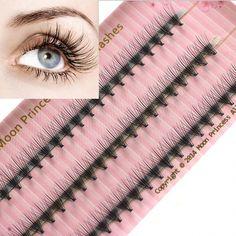 Handmade 0.07 0.10 thickness C curl 6mm-12mm length individual eyelash – eefury #EyelashExtensionsNatural
