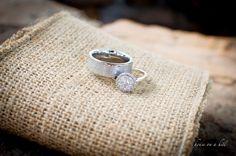 Nashville Photographer | Wedding Photography Photos Bride Groom burlap rings