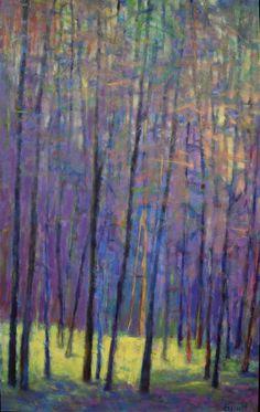 "Ken Elliott at Mirada Fine Art, Into the Forest, Oil on Canvas, 48"" x 30"""