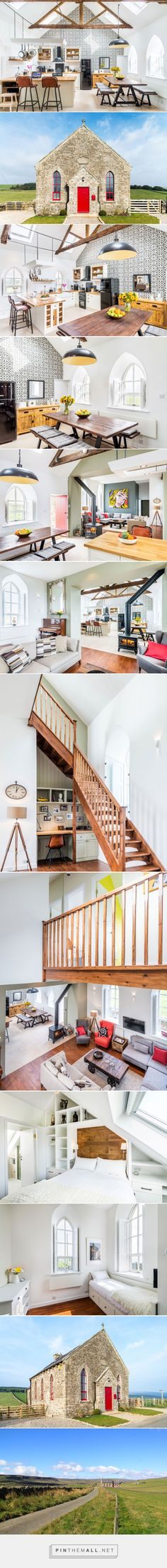 evolution design converts chapel into quaint holiday home in england - created via http://pinthemall.net