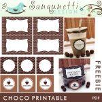Choco Printables