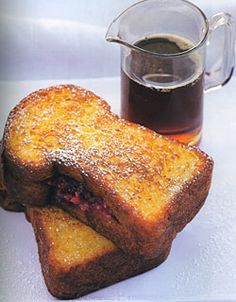 Cranberry-Cream Cheese Stuffed French Toast