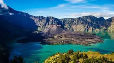 Volcán Rinjani, Lombok, Indonesia