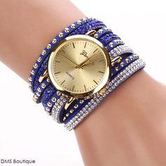 ead7d4e8a00 relógio de pulso strass Relógio Feminino
