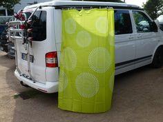 Genießen Sie eine dusche im Freien mit Reimos Außenduschkabine für Wohnmobile und Campingbusse