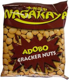 Nagaraya Adobo Cracker Nuts Snack Recipes, Snacks, Crackers, Chips, Food, Snack Mix Recipes, Appetizer Recipes, Potato Chip, Essen