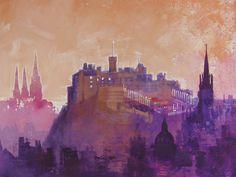 Edinburgh by Colin Ruffell - love this city sooo much