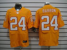 Nike NFL Tampa Bay Buccaneers 24 Mark Barron Yellow 2012 Nike NFL Elite Jersey