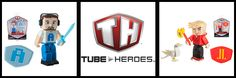 Tube Heroes plushies and action figures are now available to bring home so you can save the Digitalverse or at least your other toys. Laclan, Ali-A and a plushie TDM are among some of the fantastic figures and friends you can purchase and are perfect for your Tube Hero in training!