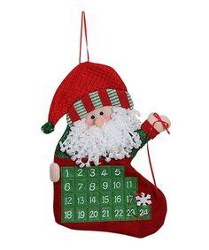 Loving this Santa Advent Calendar on #zulily! #zulilyfinds