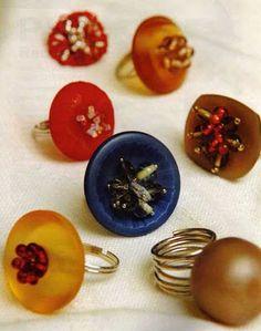 Reciclaje de botones Manualidades   Mimundomanual