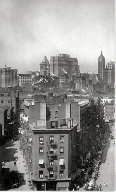 Manhattan Skyline, 1915