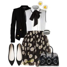 Henri Bendel - Coming up daisies, created by judieasley on Polyvore