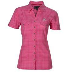Wolf Camper Lady Sommerhemd Jamaica - rosa, Outdoorhemd, Outdoorbekleidung, OutdoorShop