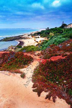 Praia da Gale, The Algarve, Portugal colour print by Andy Evans Photos #algarve #photograph #picture
