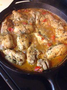 Paleo Herb Tomato Chicken
