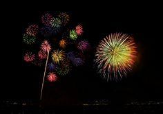 https://flic.kr/p/8skpUV | Miyajima Water Fireworks[Worldheritage] | Miyajima on the Sea Fireworks Display  is one of the most famous in Japan.  More information:en.wikipedia.org/wiki/Itsukushima_Shrine Camera : Pentax K-7 Lens: smc PENTAX-DA☆16-50㎜F2.8ED AL [IF]SDM