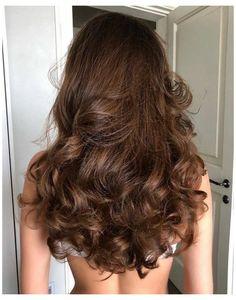 Hair Inspo, Hair Inspiration, Coiffure Hair, Aesthetic Hair, Grunge Hair, Dream Hair, Hair Highlights, Pretty Hairstyles, Curly Wavy Hairstyles