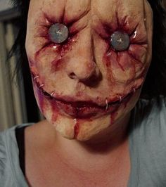 20 Creepiest Halloween Makeup Ideas