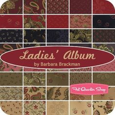 Ladies' Album Fat Quarter BundleBarbara Brackman for Moda Fabrics - Fat Quarter Bundles | Fat Quarter Shop