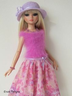 OOAK Outfit for Ellowyne | by *evati* via eBay SOLD 2/23/14  $102.50