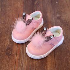 0-2年最初shoes用キッズウサギshoes女の子かわいいベビーモカシン幼児ゴムshoes夏2017熱い赤ちゃんウォーカーA03051