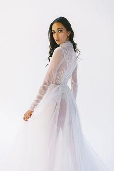 Allegra — Ella Moda Dresses With Sleeves, Long Sleeve, Collection, Fashion, Moda, Sleeve Dresses, Long Dress Patterns, Fashion Styles, Gowns With Sleeves