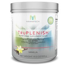 Delicious way to start the day! I love TruPlenish shakes Gluten free Vegan friendly Dairy free GMO free No synthetics Vegan Gluten Free, Dairy Free, Plant Based Protein, Nutritional Supplements, Vegan Friendly, Real Food Recipes, Fiber, Skin Care, Fat