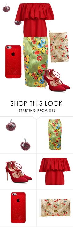 """""""Cherry on Top"""" by faeryrain on Polyvore featuring Marc by Marc Jacobs, trending, marcjacobs and fashionset"""