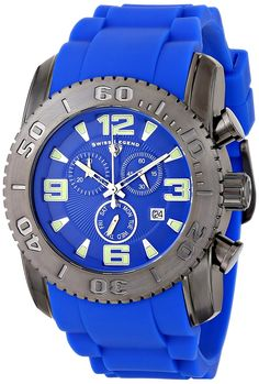 Swiss Legend Men's 10067-GM-03 Commander Analog Display Swiss Quartz Blue Watch *** You can get more details by clicking on the image.