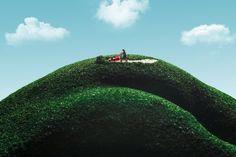 Auf der anderen Seite ist das Gras grüner... von Pixelmaedchen - Foto Galerie - c't Fotografie