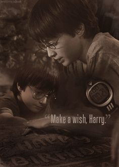 And the wish came true. This should remind us all that it is okay to have hope.