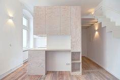 Micro-appartement par Spamroom + johnpaulcoss