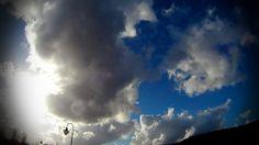 Molo w Gdyni Orłowie. Zza chmur zawsze wychodzi słońce :)