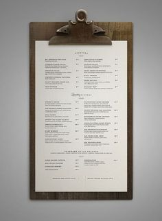 Poogan鈥檚 Porch menu design restaurant food
