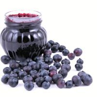 Photo about Jar of blueberry jam and some fresh berries isolated. Image of fruit, confiture, preserve - 1255095 Fruits Images, Blueberry Jam, Preserves, Family Meals, Cookie Recipes, Berries, Food And Drink, Homemade, Canning