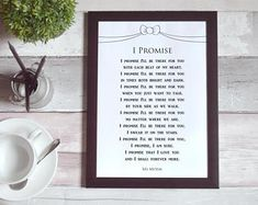 Items similar to Poem Printable Where I'll Always Be Wedding Gifts For Groom, Bride Gifts, Our Wedding, Wedding Poems, You Poem, Letter To Yourself, Poems Beautiful, Always Be, Love Words